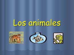 Los animales - Universidad de Castilla