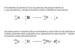 Ecuaciones nucleares - FREE Chemistry Materials, Lessons