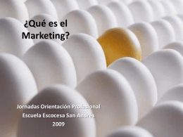 Que es el Marketing?