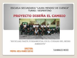 DIRECTORA: PROFRA. ADELA RAMOS CUEVAS