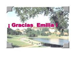 Gracias Emilia !