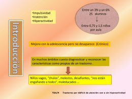 Diapositiva 1 - Universidad de Huelva