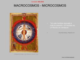 MACROCOSMOS-MICROCOSMOS