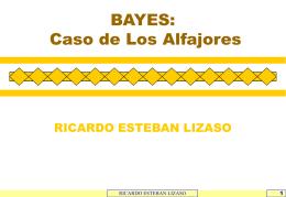 BAYES 'CASO DE LOS ALFAJORES'