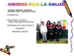 LOS ALIADOS DE LA SALUD