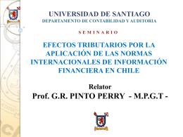 UNIVERSIDAD DE SANTIAGO DERECHO TRIBUTARIO II