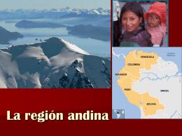 La region andina