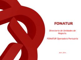 Diapositiva 1 - Fonatur Operadora Portuaria S.A. de C.V
