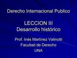 Derecho Internacional y Relaciones Internacionales