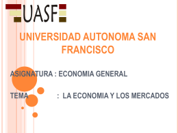 UNIVERSIDAD AUTONOMA SAN FRANCISCO