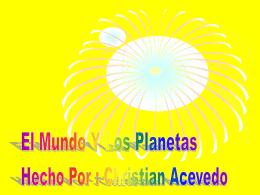 El Mundo Y Los Planetas - North Beach Elementary School