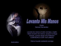 LEVANTO MIS MANOS - Colegio Ntra. Sra. del Carmen