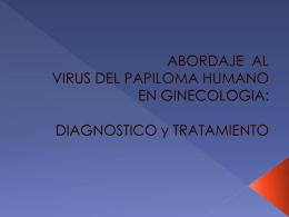 UNIVERISIDAD DE GUADALAJARA VIRUS DEL PAPILOMA …