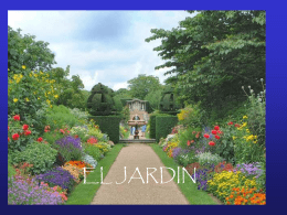 EL JARDIN - Reflexiones Power Point