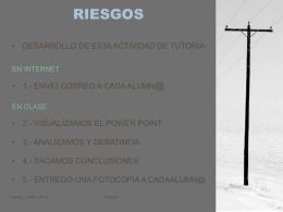 RIESGOS - EDUCARM
