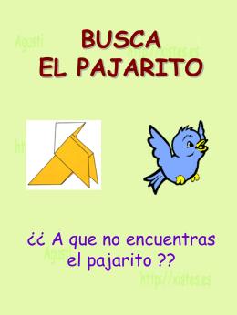 AG2- Busca el pajarito - Xistes de l'Agust&#237