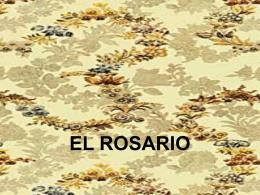 EL ROSARIO - Mariologia Maria Virgen Guadalupe Pastoral