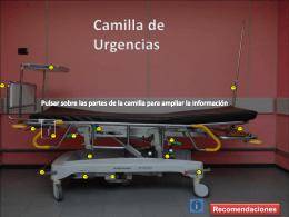 Camilla de Urgencias