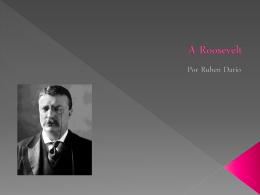 A Roosevelt
