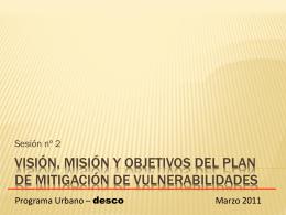 """VISION ES UNA IMAGEMN DEL FUTURO QUE DESEAMOS"""""""