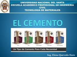 EL CEMENTO - Biblioteca Central de la Universidad …