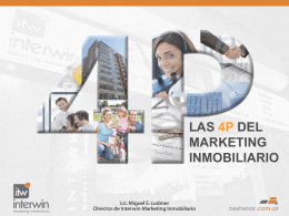 Las 4 P del marketing inmobiliario