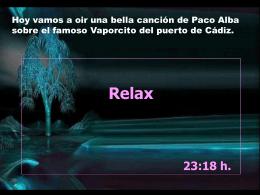 """Vaporcito del puerto"" Paco Alba"