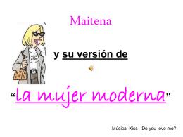 Maitena y su version de la mujer moderna