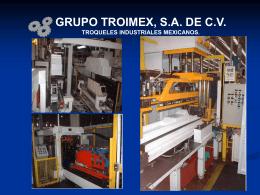 GRUPO TROIMEX, S.A. DE C.V.