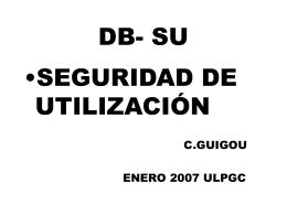 DB- SU