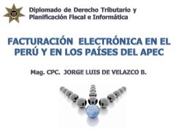 Facturas Electronicas Jorge De Velazco