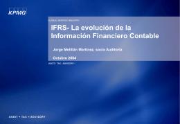 IFRS 1 - SOFOFA – Impulsando el Crecimiento de Chile