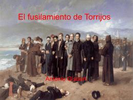 El fusilamiento de Torrijos - Ciencias Soci@les | Blog de