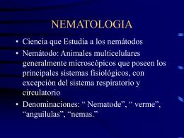 NEMATOLOGIA