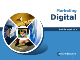 Marketing Digital - comercio electronico / FrontPage