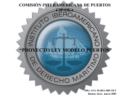 LEY MODELO - OAS :: Department of Conferences and …