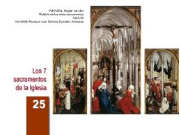 Los 7 sacramentos de la Iglesia - Arguments
