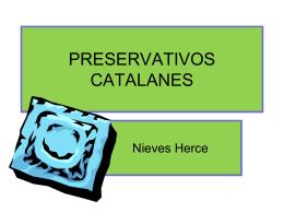 PRESERVATIVOS CATALANES