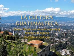 Las diferentes culturas Guatemala