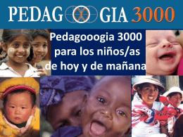 Diapositiva 1 - Pedagooogia 3000