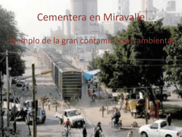 Cementera en Miravalle
