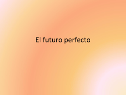 El futuro perfecto - SchoolWorld an Edline Solution