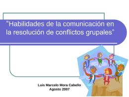 Estilos de comportamiento ante el conflicto