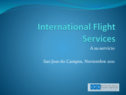 International Flight Services