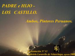 PADRE e HIJO, AMBOS PINTORES PERUANOS