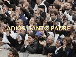 TESTAMENTO DEL SANTO PADRE