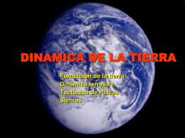 DINAMICA DE LA TIERRA