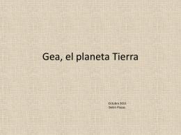 Gea, el planeta Tierra