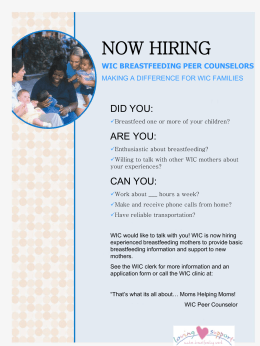 Peer Counselor Recruiting Posters