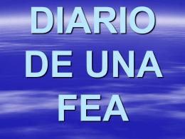 DIARIO DE UNA FEA